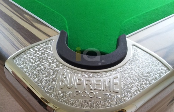 Artwood Supreme Winner Pool Table Crome Corners