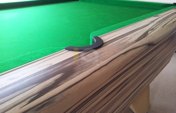 Artwood Winner Pool Table Corner Close Up
