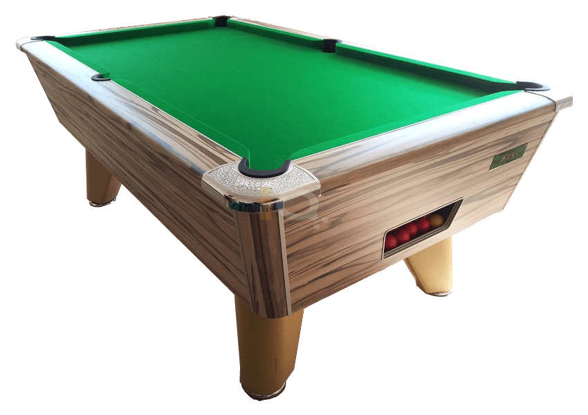 Artwood Winner Pool Table with Green Cloth