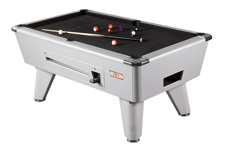 Supreme Winner Pool Table in Aluminium Finish