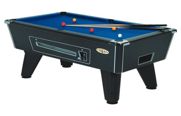 Supreme Winner Pool Table in Black Finish