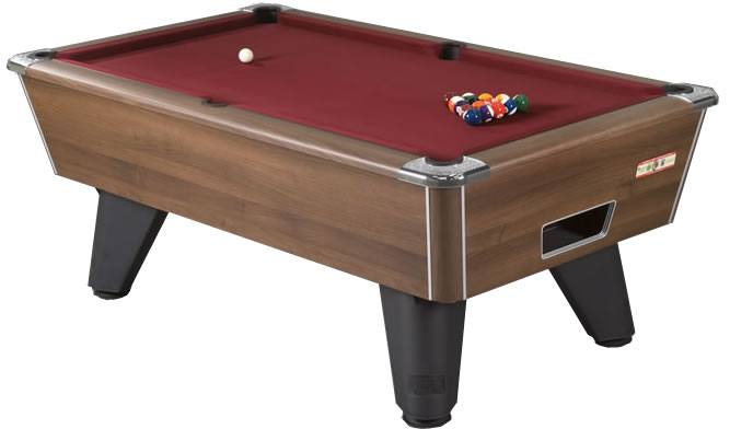 Supreme Winner Pool Table in Walnut Finish