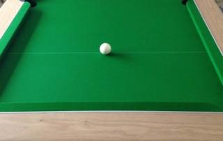 Supreme Prince Pool Table Oak Finish Green Cloth