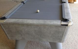 eme Winner Pool Table Italian Grey Finish with Grey Cloth