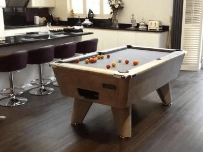 Supreme Winner Pool Table in Italian Grey Finish