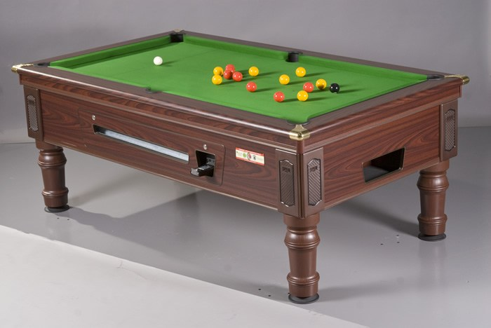 Supreme Prince Pool Table in Walnut Finish