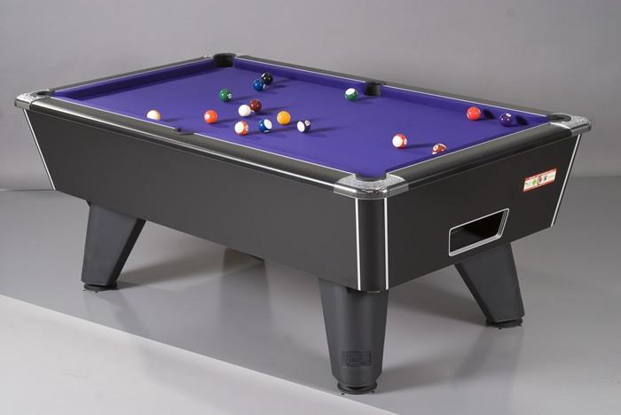 Winner Pool Table in Black Pearl Finish