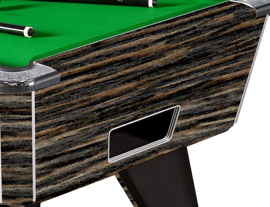 Supreme Winner Pool Table in Rustic Finish