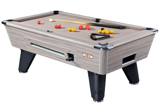Supreme Winner Pool Table in Driftwood Finish