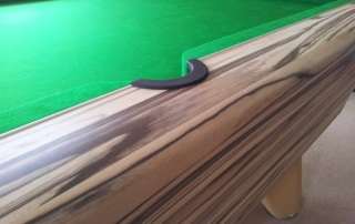 Supreme Winner Pool Table Artwood Finish Green Cloth