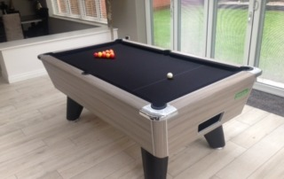 Driftwood Winner Pool Table Installation