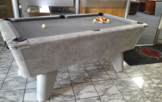 Supreme Winner Pool Table Italian Grey with Marble Effect