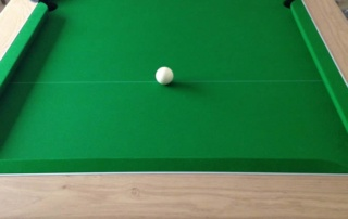Supreme Prince Pool Table Oak Finish Green Cloth