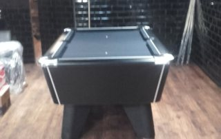 Secondhand Supreme Pool Table in a Barbershop